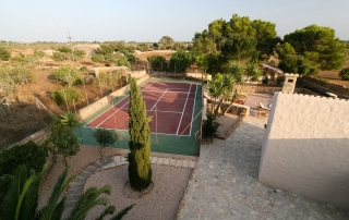 Casa Fortuna Finca Tennis Court
